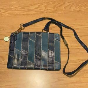 GILI genuine leather crossbody bag